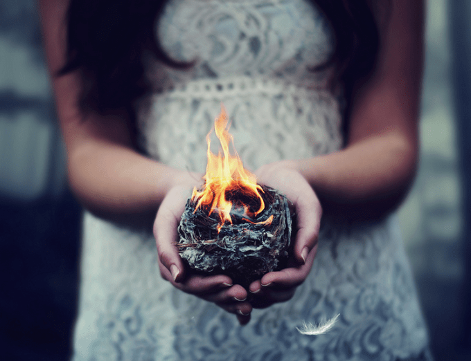 Catching Fire by AmyJanelle
