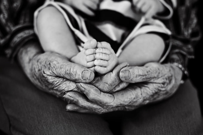Great Grandma's Hands by Stephanie... Lifeography