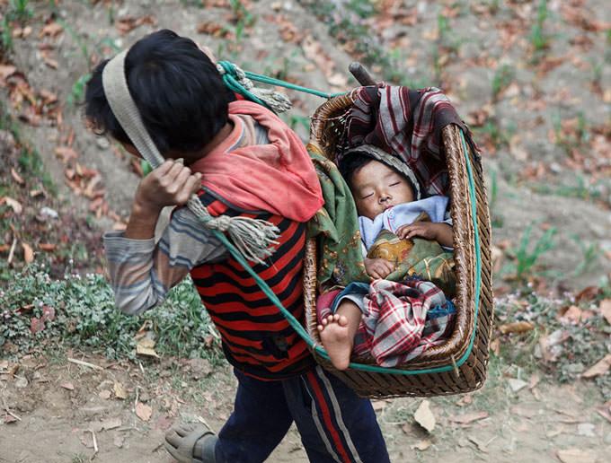 Sleeping Baby by Masashi Mitsui