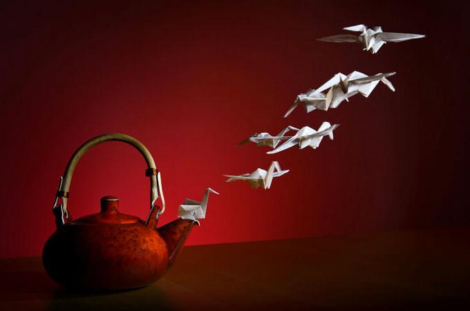 Tea Phoenix Flight by VOJTa Herout