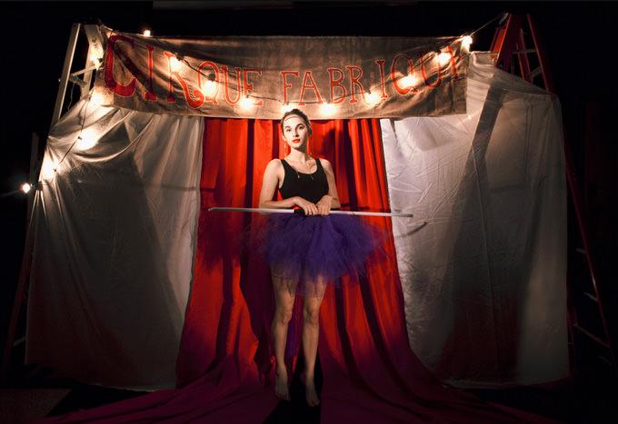 Cirque Fabrique / The Tightrope Walker by Alexis Mire