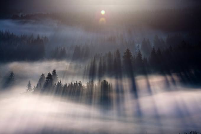 First Rays by Marcin Sobas