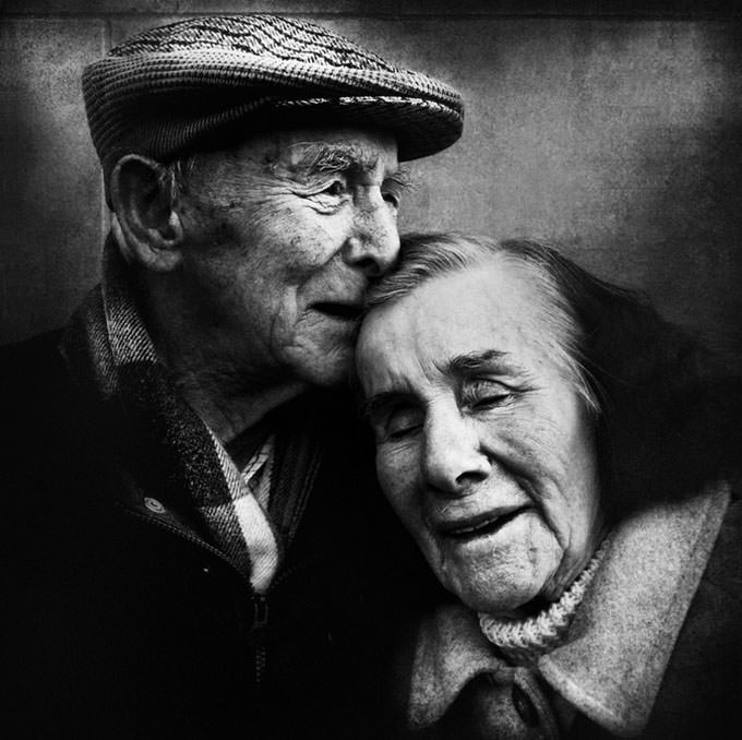 They walked a long way together... by Lee Jeffries