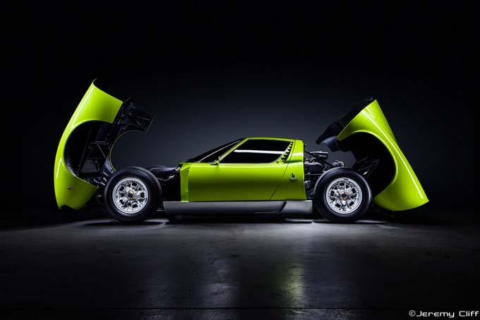 Lamborghini Miura S Automotive Royalty by Jeremy Cliff