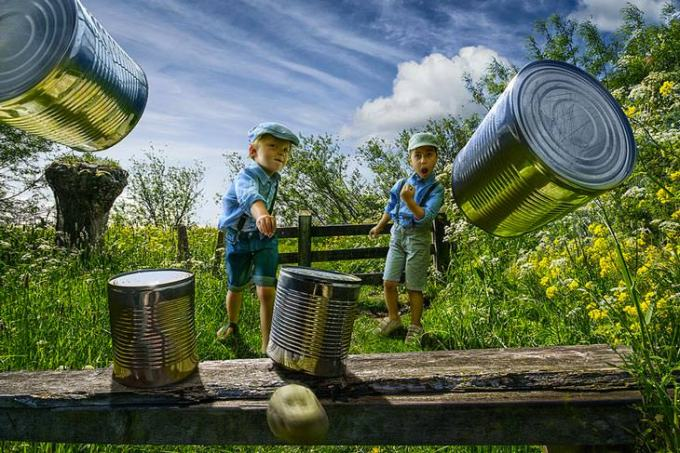 Tin Can Alley by Adrian Sommeling