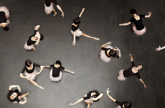 ballet from above by Laura Zalenga