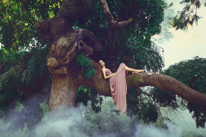 sleepy fairy by Julia Velikaya