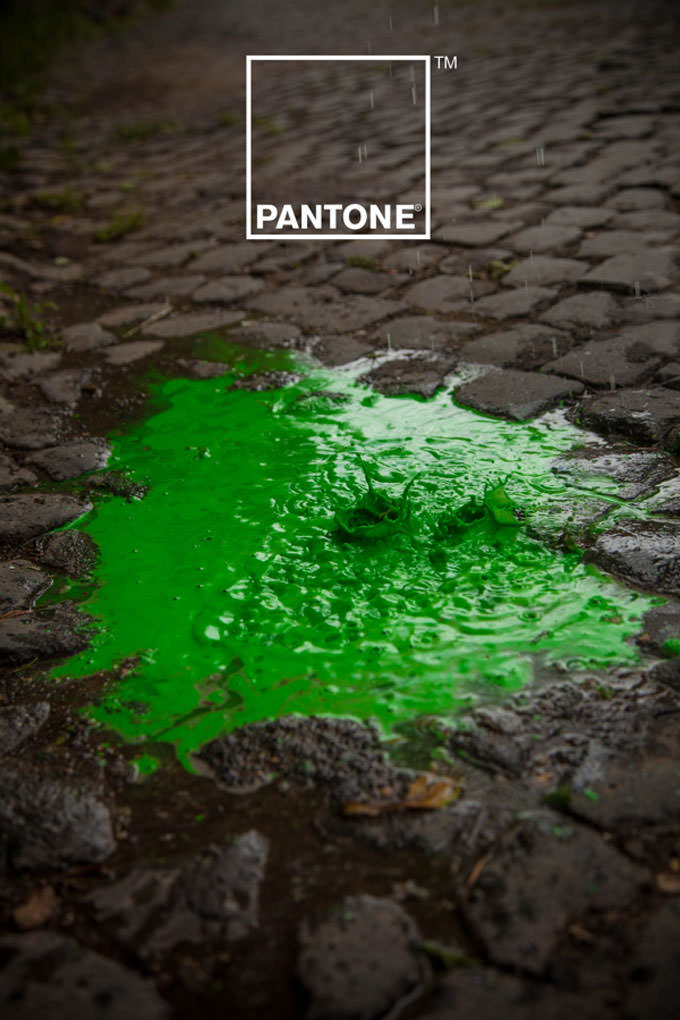 Pantone Rain Edition by Matteo Gallinelli and Giuliano Antonio Lo Re