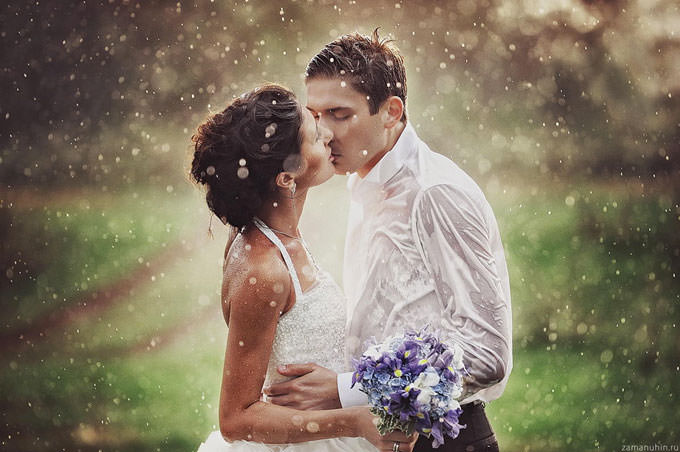 Wedding in the Rain 3 by Ivan Zamanuhin