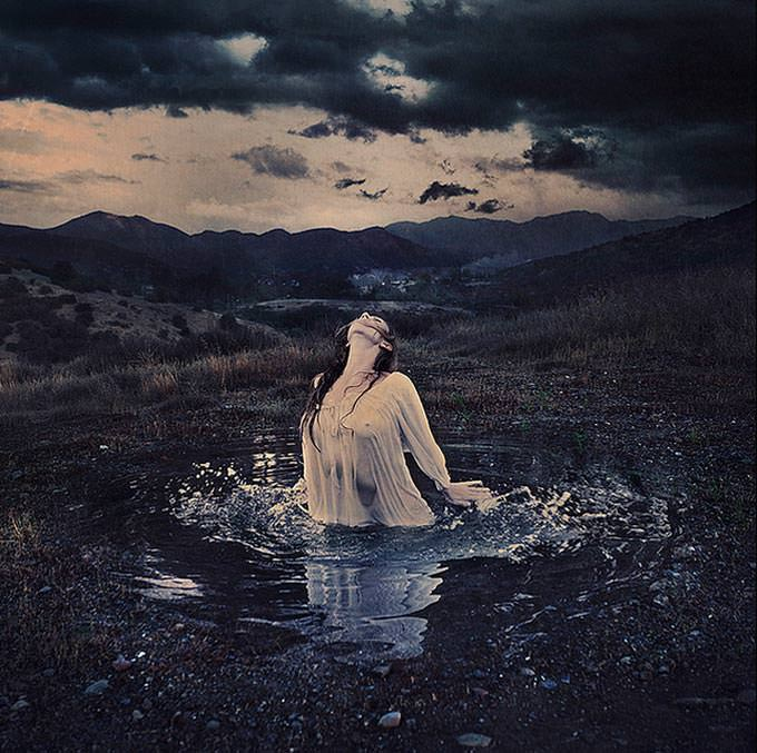 out of the earth by Brooke Shaden