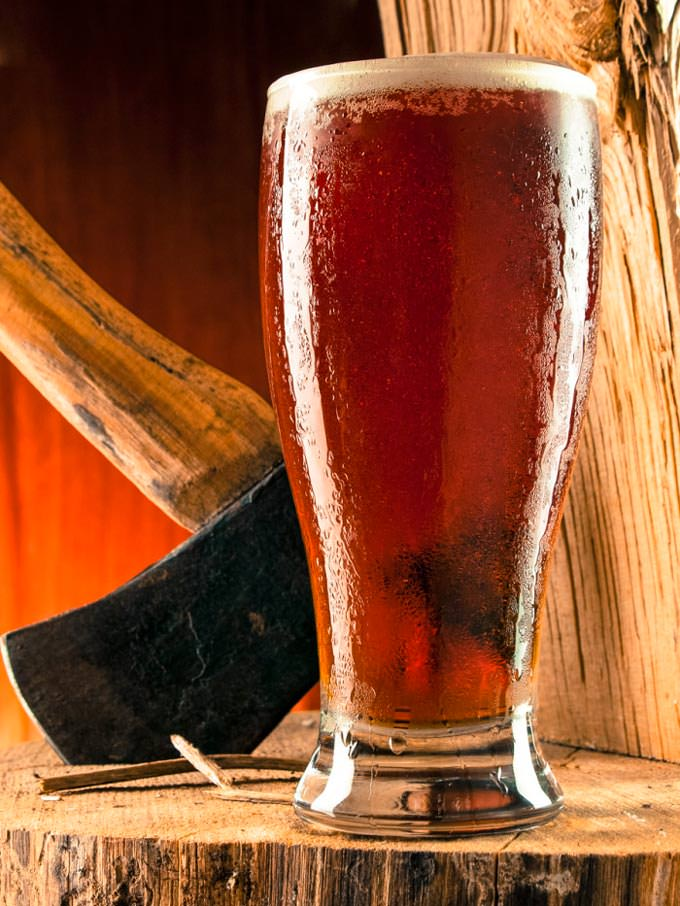 Red Ale on the Chopping Block by Riveting Imagery
