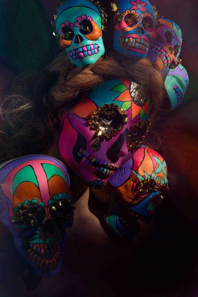 Sugar Skulls by Saara Sarvas