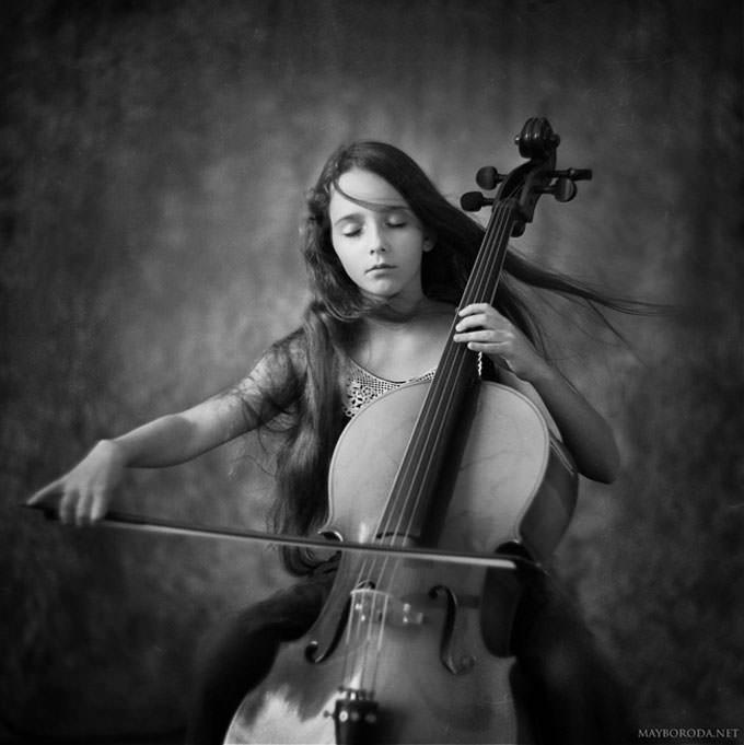 lullaby for angel by Alina Mayboroda