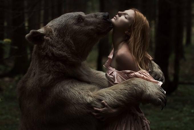 Beauty and the Bear by Alexandra Truhacheva