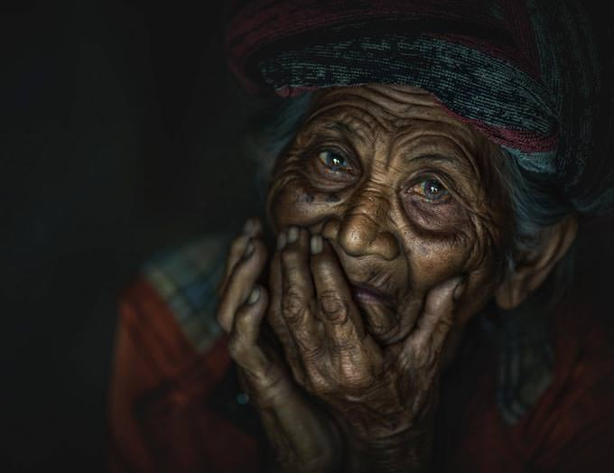 Portrait from Bali by abe less