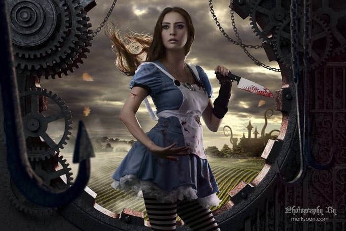 Dark Alice Madness Returns by Mark Soon
