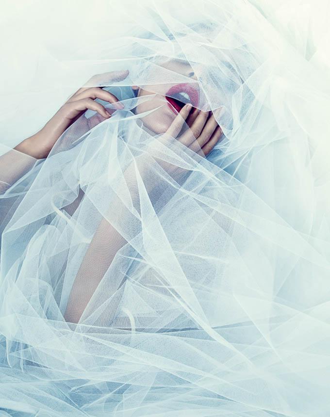 Veiled Beauty by Jean-Baptiste Fort