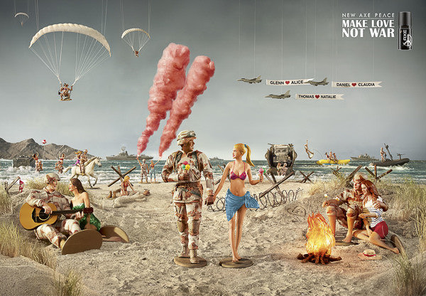 Advertising - Axe Campaign for BBH London by Jean Yves Lemoigne