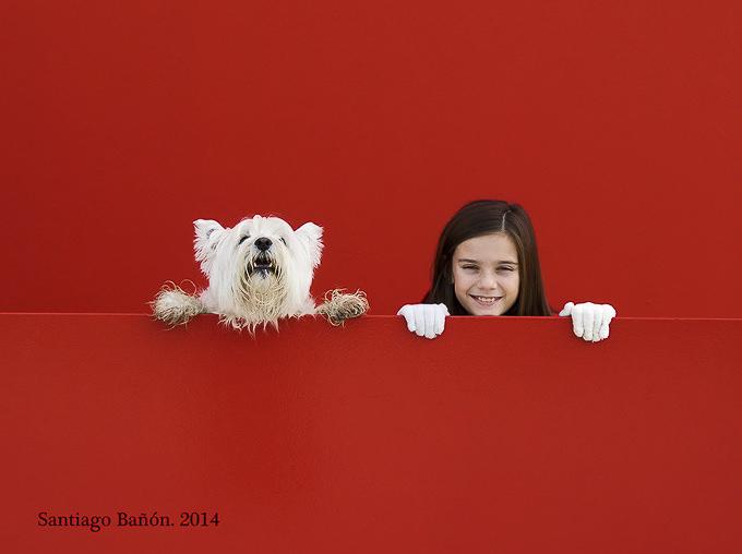 dos en rojo by SANTI BAÑON