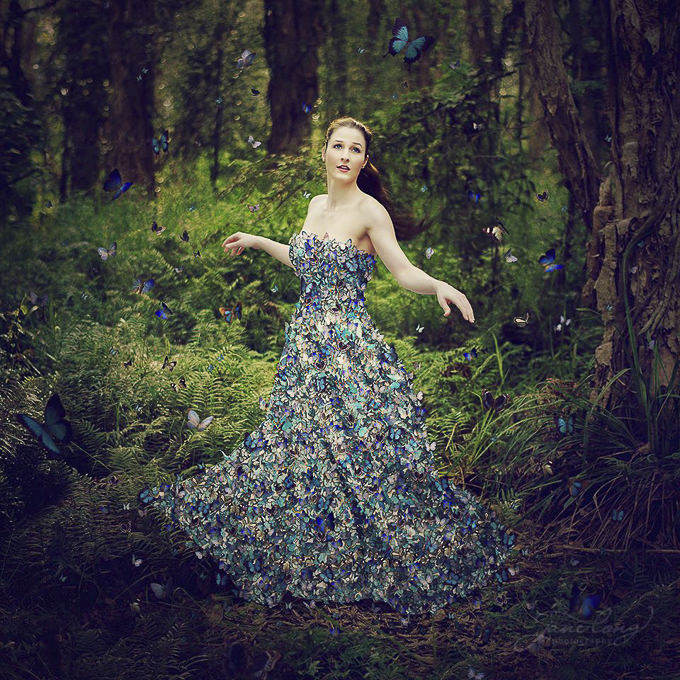 Miss Flutterby by Jane Long Photography