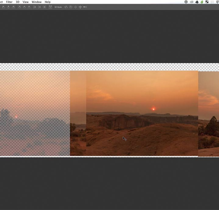 how to create a dark background in photoshop