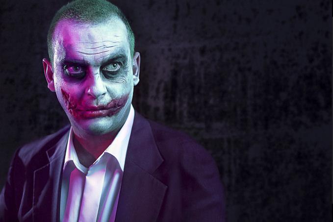 Hilarious Joker by Quentin De Meuter