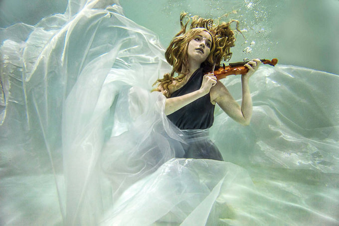 The Violinist by Katelin Kinney Photography