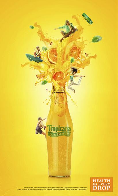 Tropicana Juice Icon Advertising by Ajith Pran