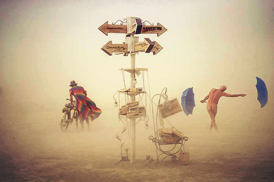 Burning Man ii 2014 by Victor Habchy