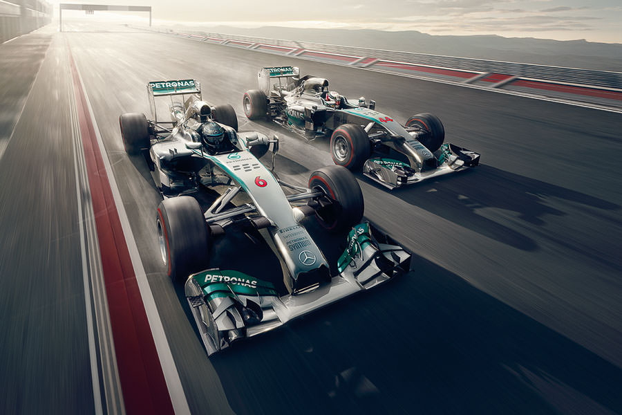 Mercedes Benz Formula One by Thomas Strogalski