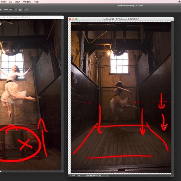 Phlearn Levitation Photography Photoshop