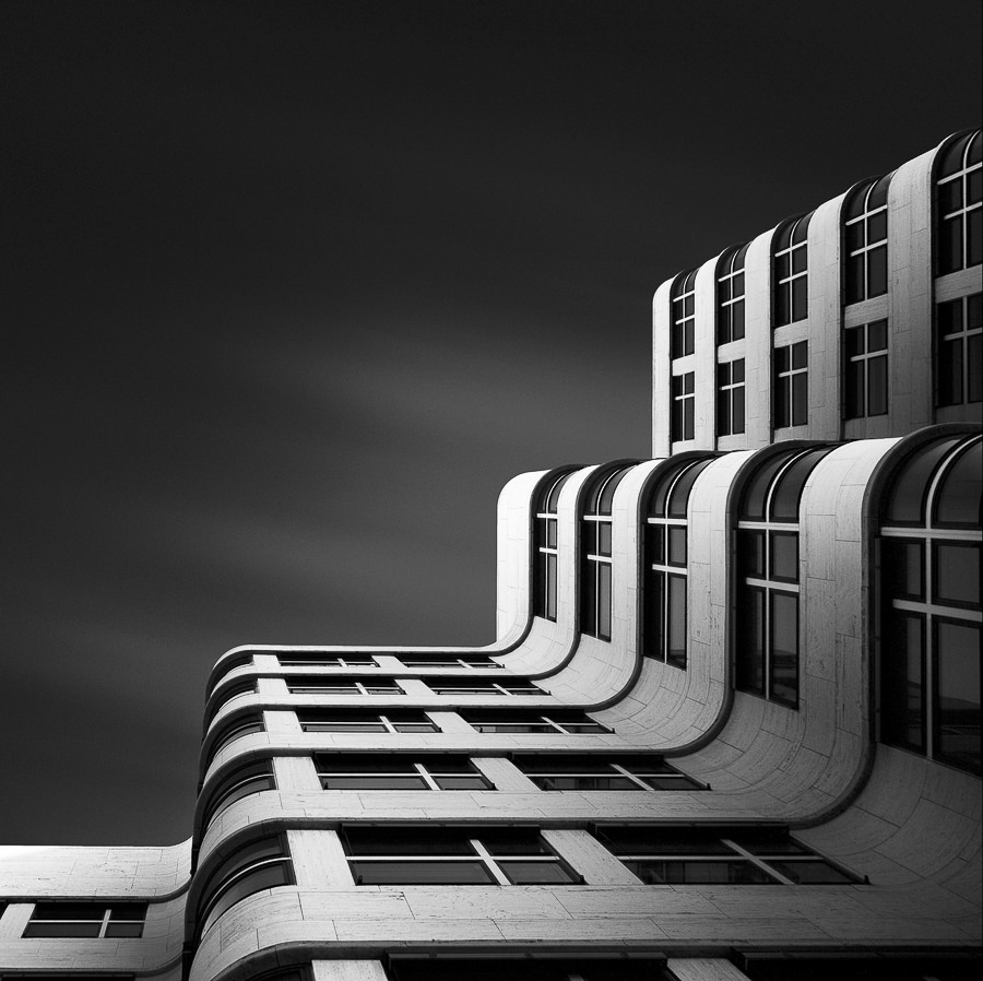 The Shape of Light XI - The Shell Haus Berlin by Julius Tjintjelaar