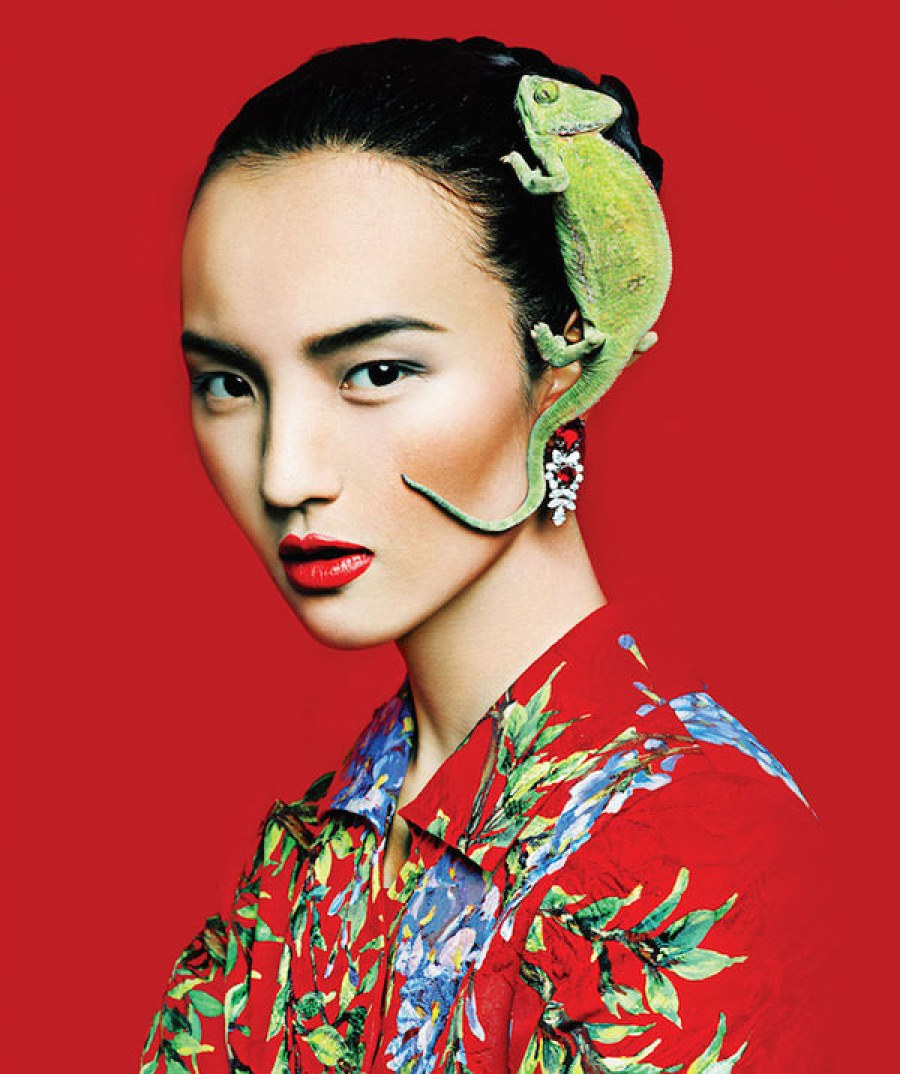Post Magazine Feb 2015 Fashion Editorials - Lu Ping by Marian Woo