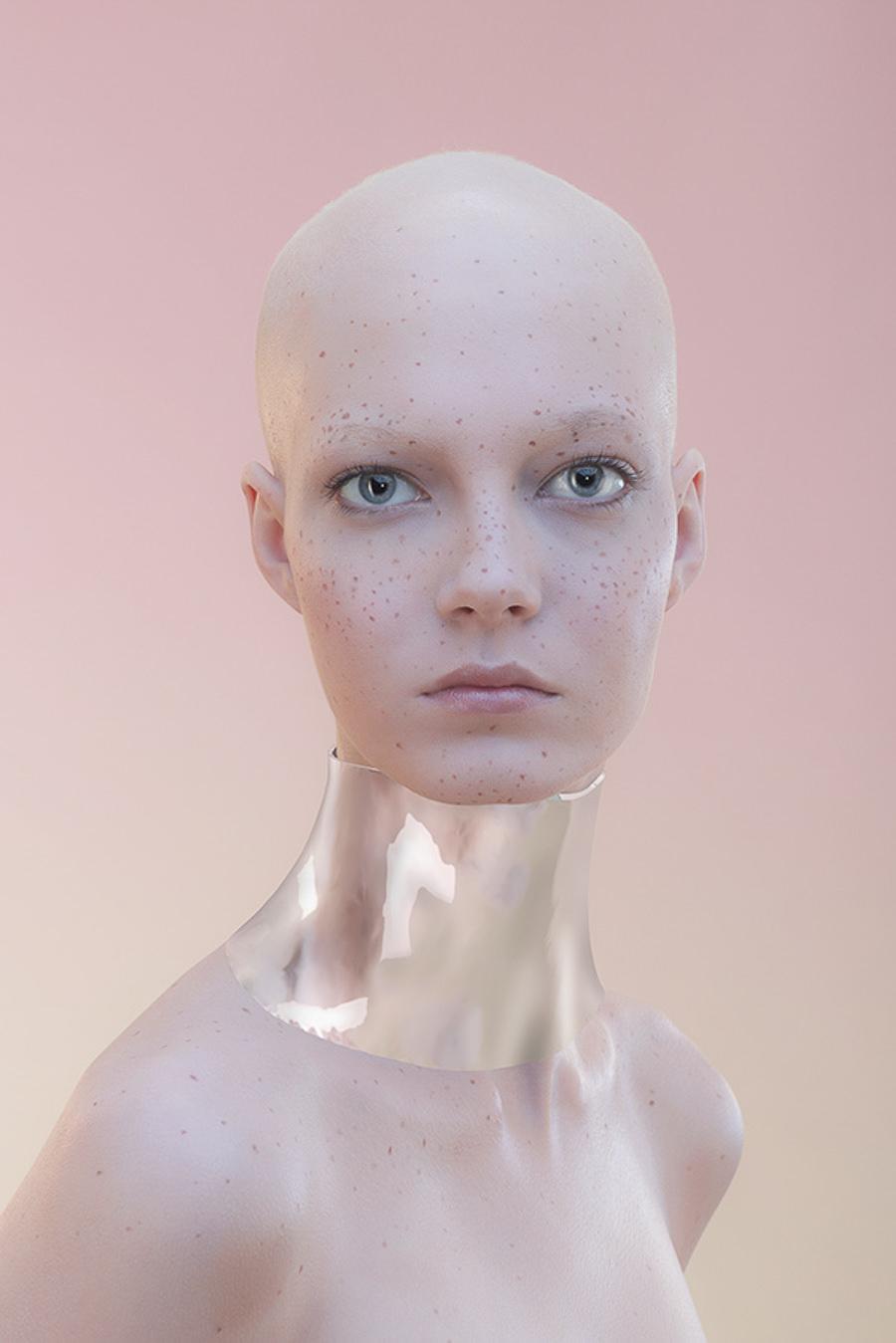 Wonderzine Nude makeup by Pavel Samokhvalov