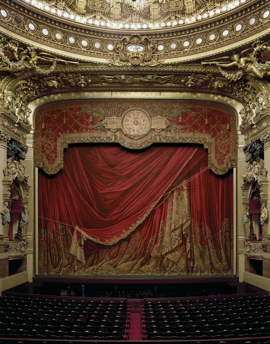 Curtain, Palais Garnier PARIS, FRANCE, 2009 by David Leventi