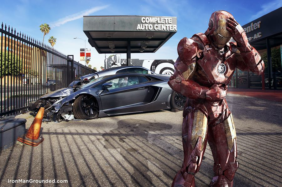 Iron Man Grounded by raffael dickreuter