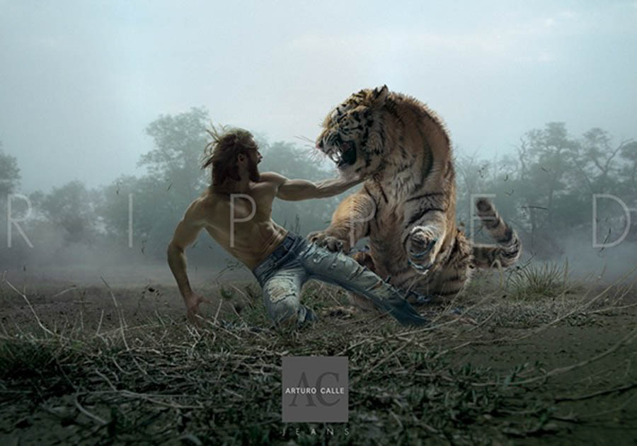 PRINT Wild Process - Arturo Calle Jeans by Luisito Giraldo Gomez and Miguel Angel Grillo