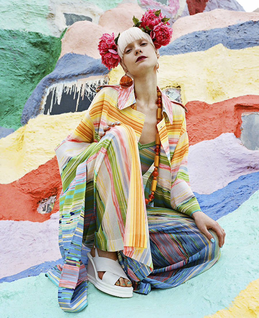 Salvation Mountain by Julia Galdo and JUCO Photo