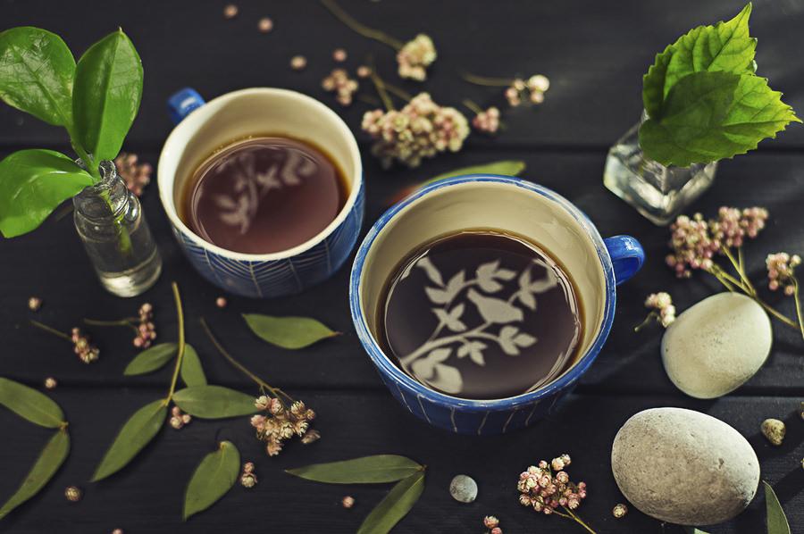 Coffee for Dreamers; Gardener's tea by Dina Belenko