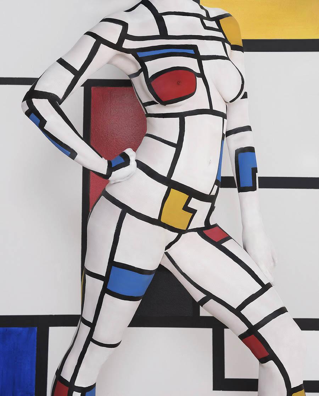 Mondrian Redux by Matthew Dickstein