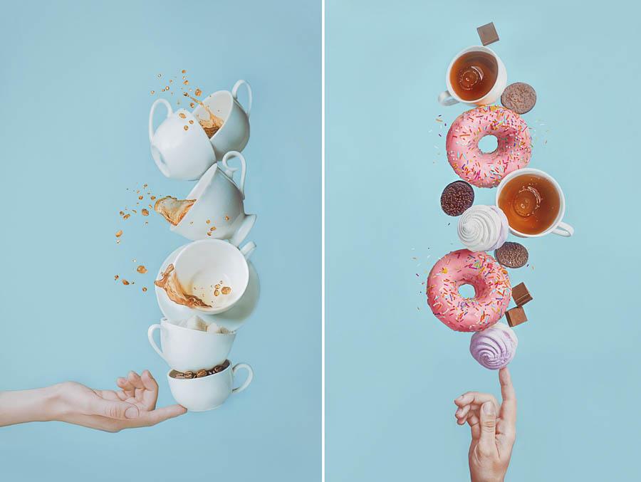 Balancing Donuts with tutorials by Dina Belenko