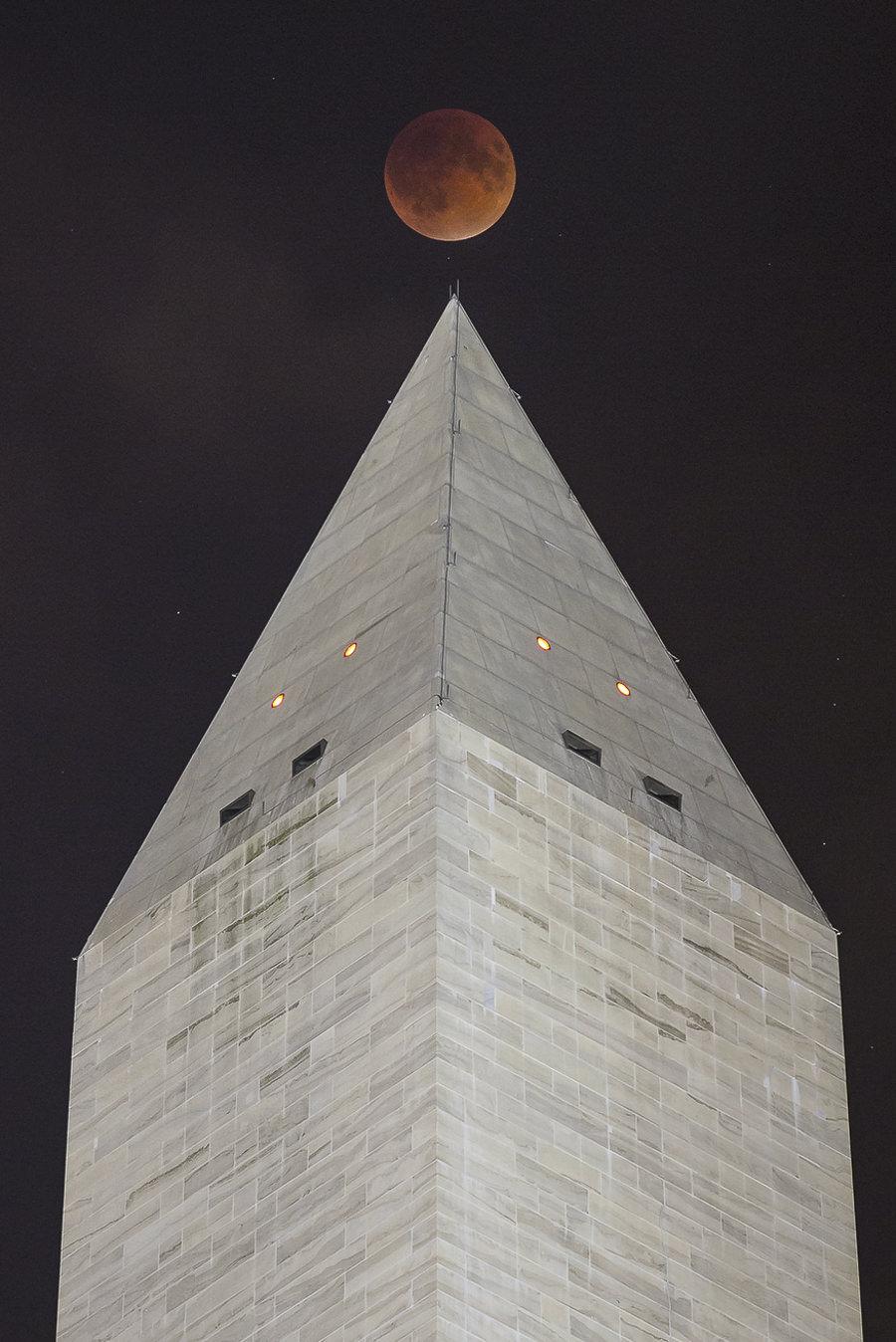 Super Blood Moon by Harrison Jones