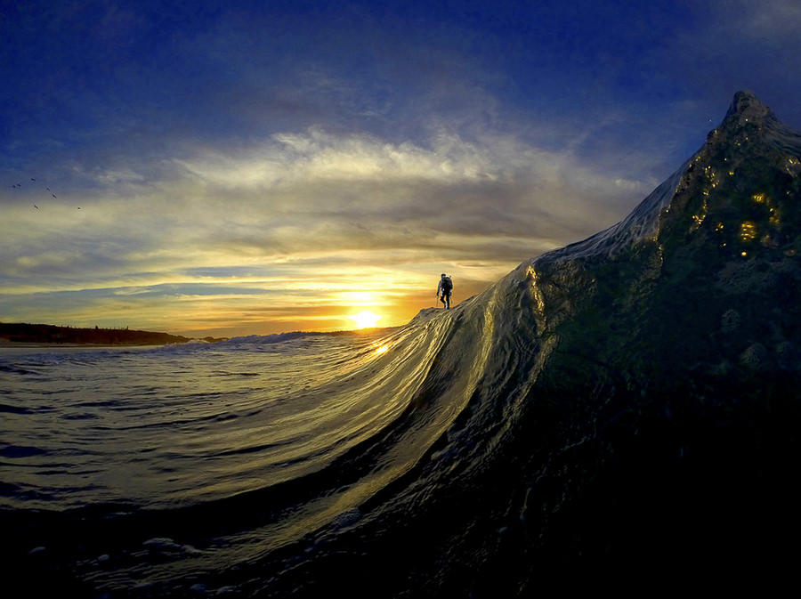 Wave or Mountain? by decompreSEAN