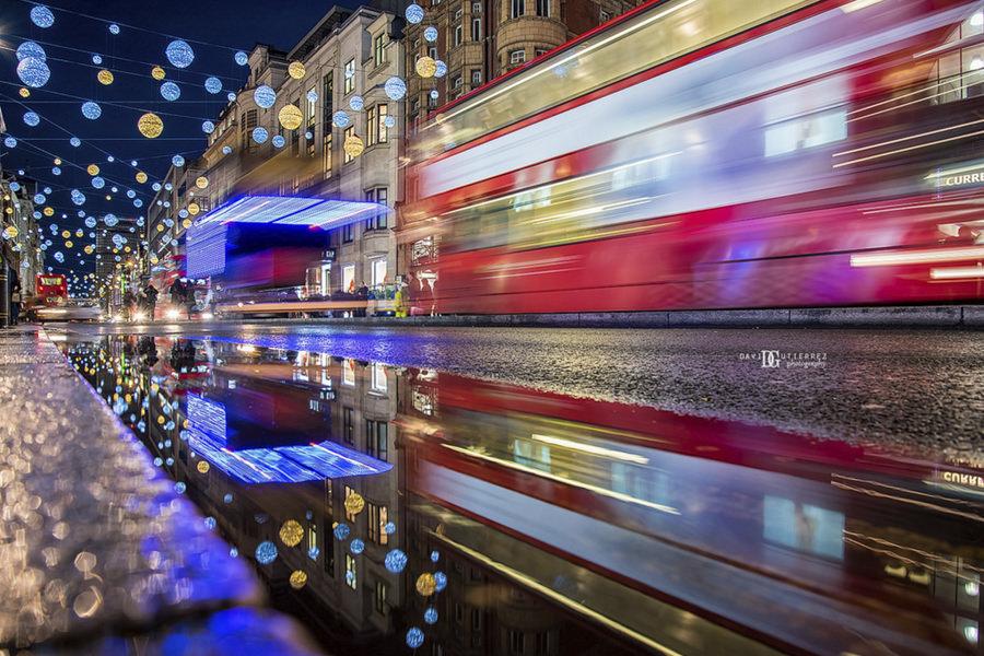Winter Wonderland- Christmas Lights Regent Street, London, UK by David Gutierrez