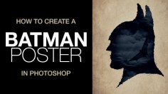 Photoshop Tutorials: How to Create a Batman Poster in Photoshop