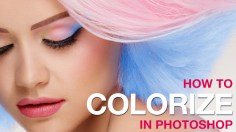 Photoshop Tutorials: How to Colorize in Photoshop