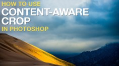 Photoshop Tutorials: How to Use Content-Aware Crop in Photoshop