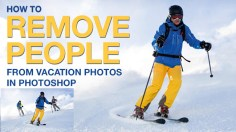 Photoshop Tutorials: How to Remove People From Vacation Photos in Photoshop