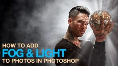 Photoshop Tutorials: How to Add Fog & Light in Photoshop