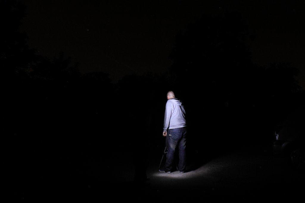 image of ciaran at night